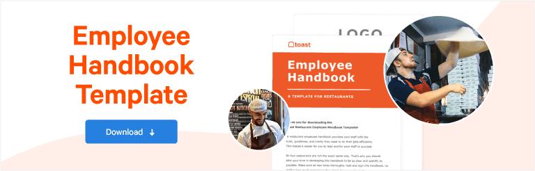 How to Write Your Restaurant Employee Handbook | Toast POS