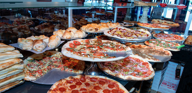 Amore Pizzeria's Selection of Handmade New York-Style Pizzas