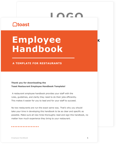 Employee Handbook Sheet