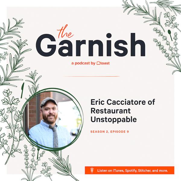 Eric Cacciatore Garnish