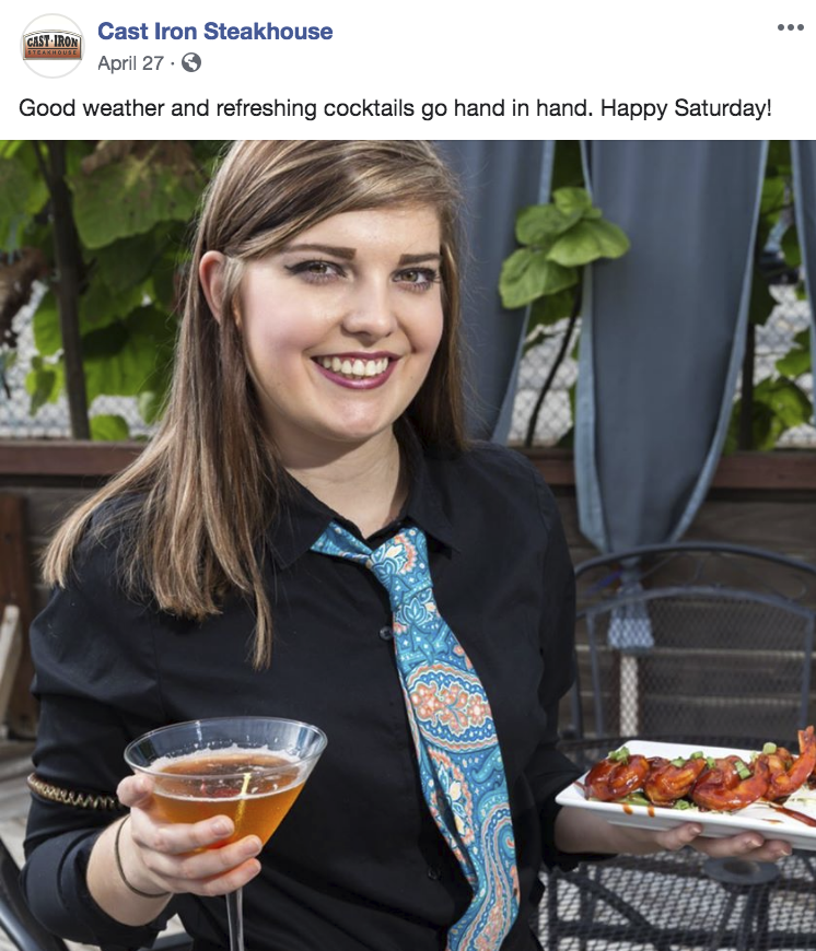 restaurant brand - team appreciation