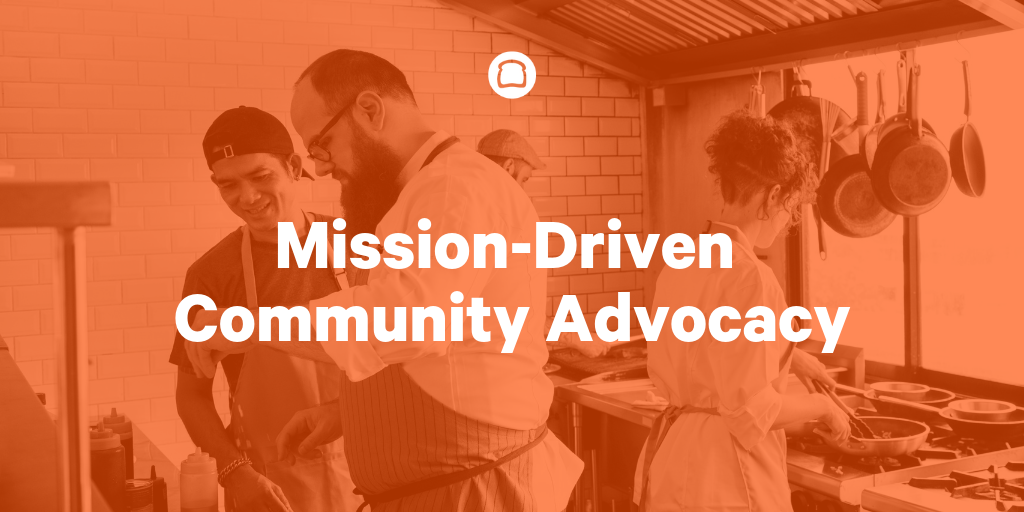 restaurant staff management models - mission-driven community advocacy