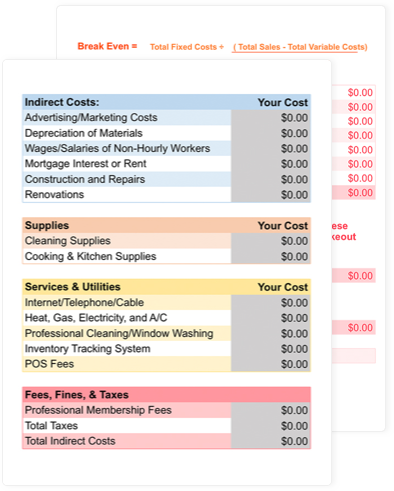 Numbers And Metrics Sheet