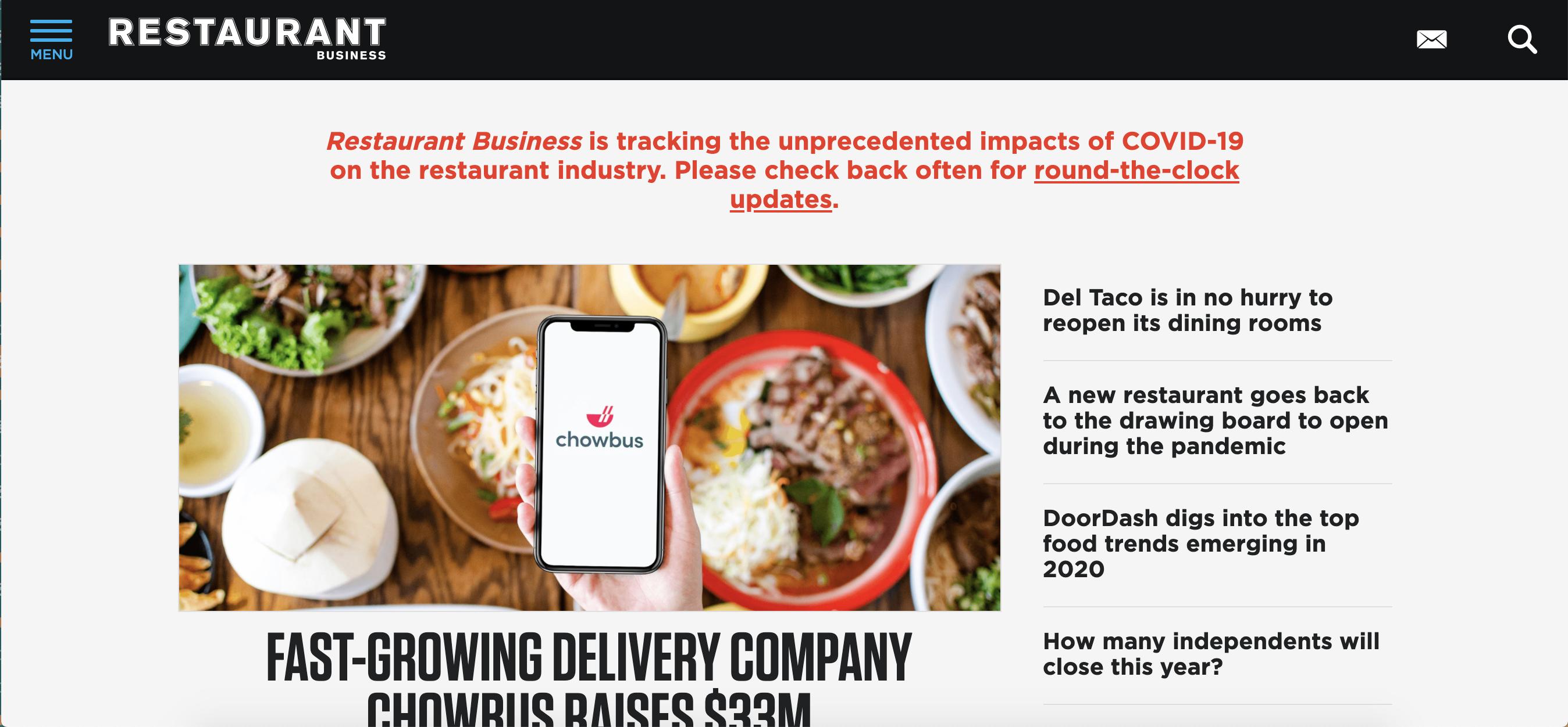 Restaurant Business Online