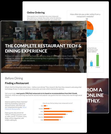 Restaurant Success 2017 Sheet