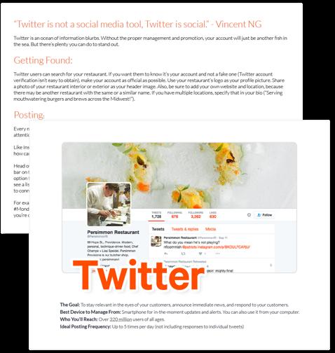 Social Media Sheet