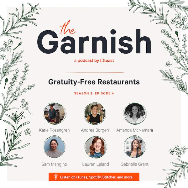 Tipping Garnish Graphic