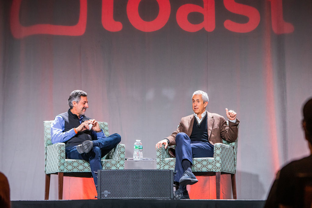 Danny Meyer and Chris Comparato