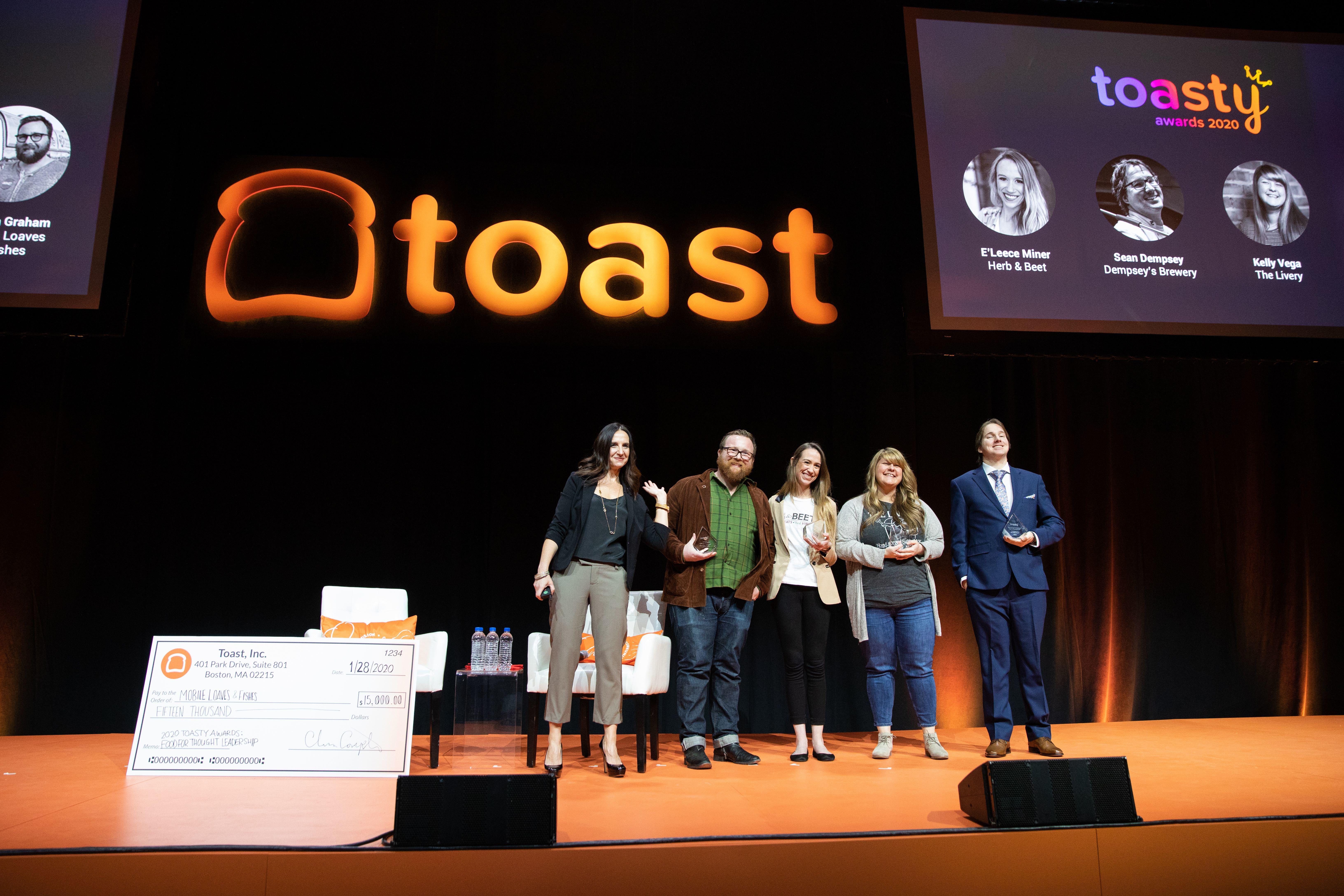 Toasty Award Winners 2020
