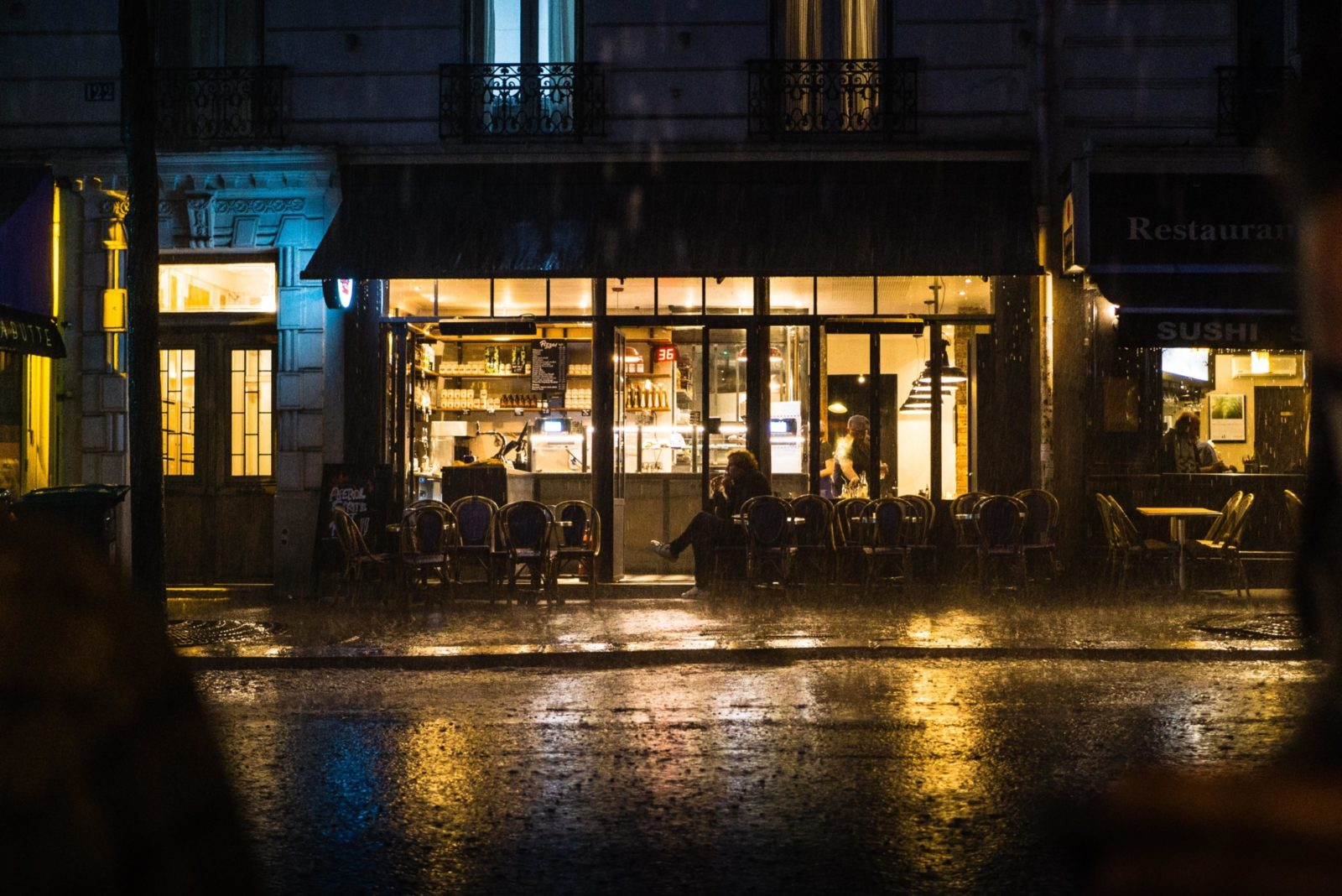 Restaurant weather