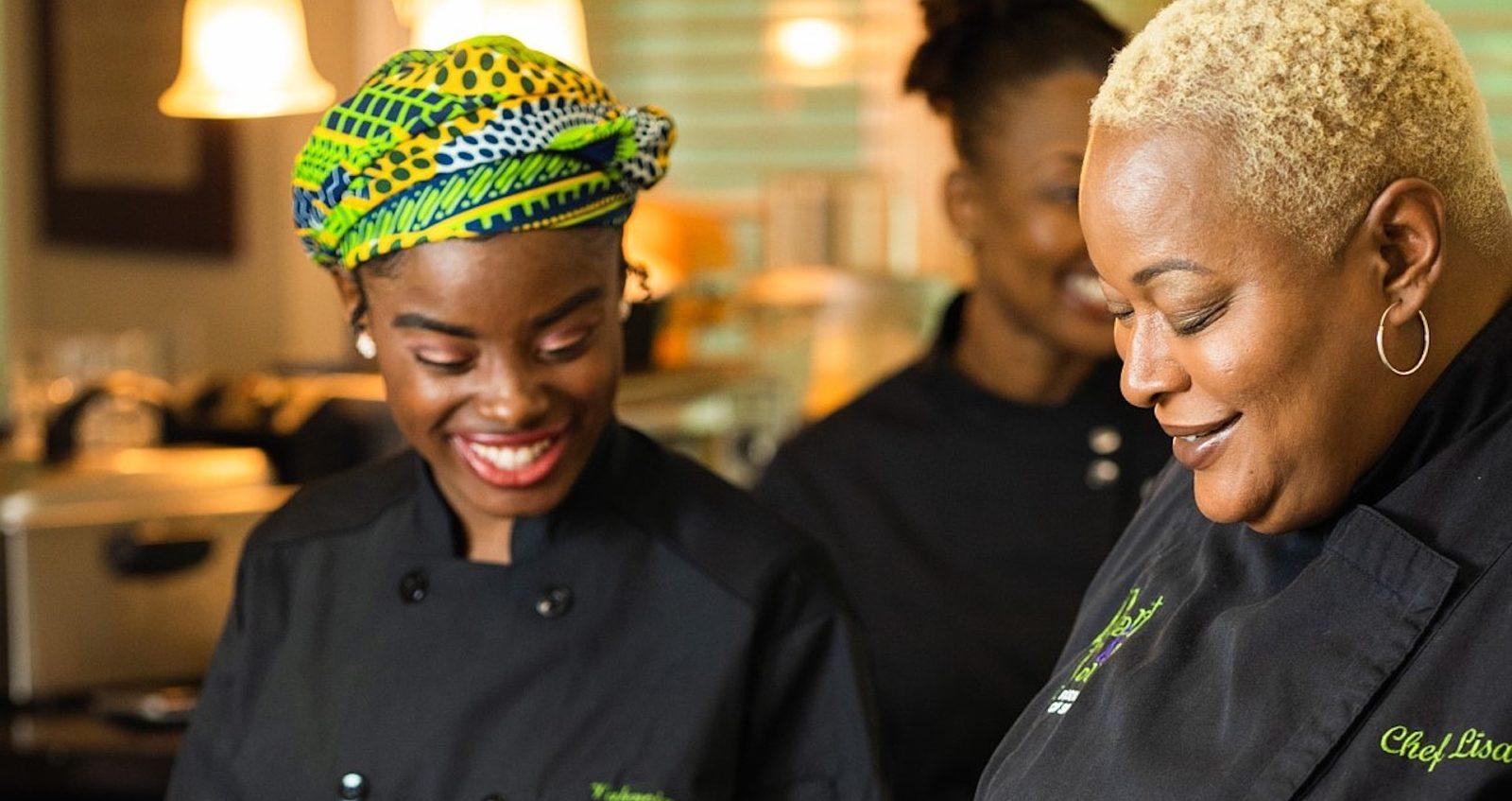 Chef Lisa Brooks Team header
