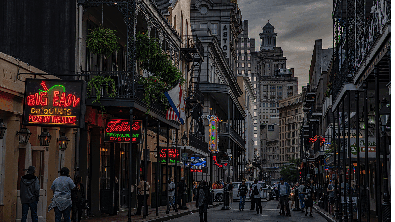 New Orleans Restaurants Street