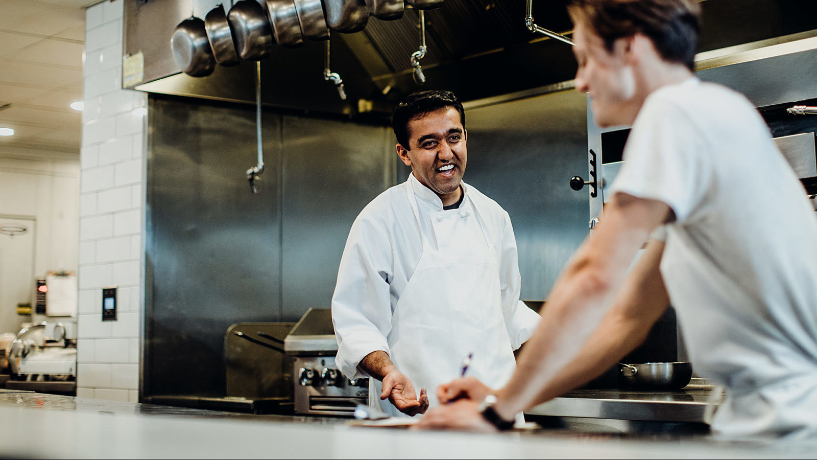 Restaurant Chef and Cook in the Kitchen - Open-Book Management Keeps Restaurant Employees Happy