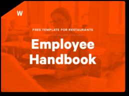Restaurant Employee Handbook Template Toast Pos