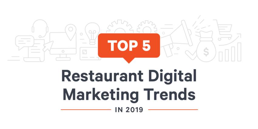 Restaurant Digital Marketing Trends Blog Header 2019 01