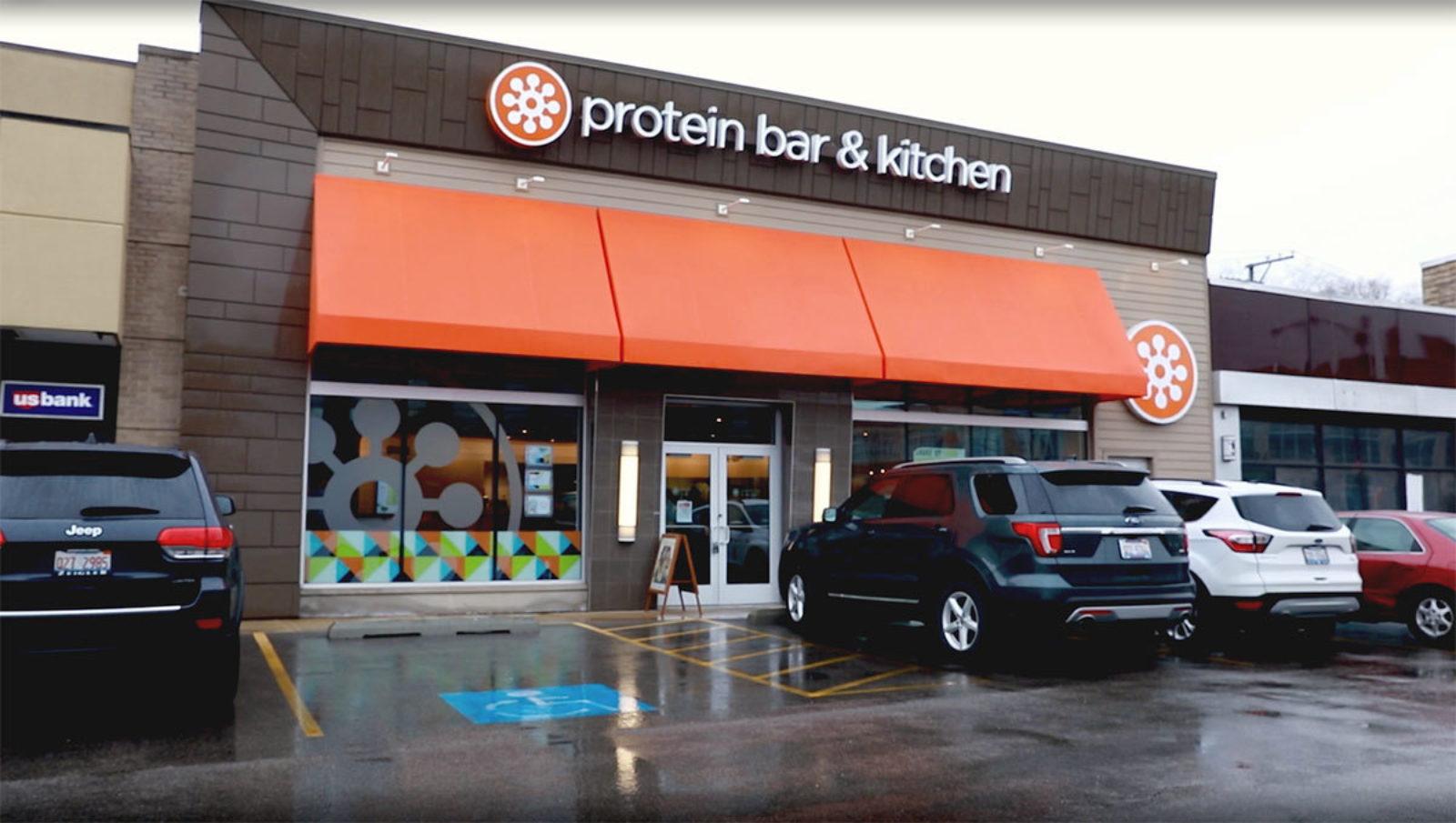 Protein Barand Kitchen Storefront
