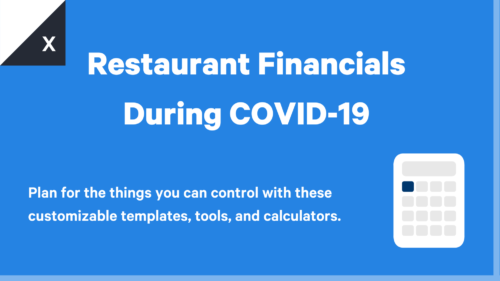 Restaurant Financials During the COVID 19 Pandemic