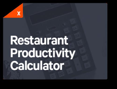 Restaurant Productivity 75nb439xc