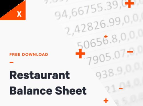 Restaurant Balance Sheet Thumbnail