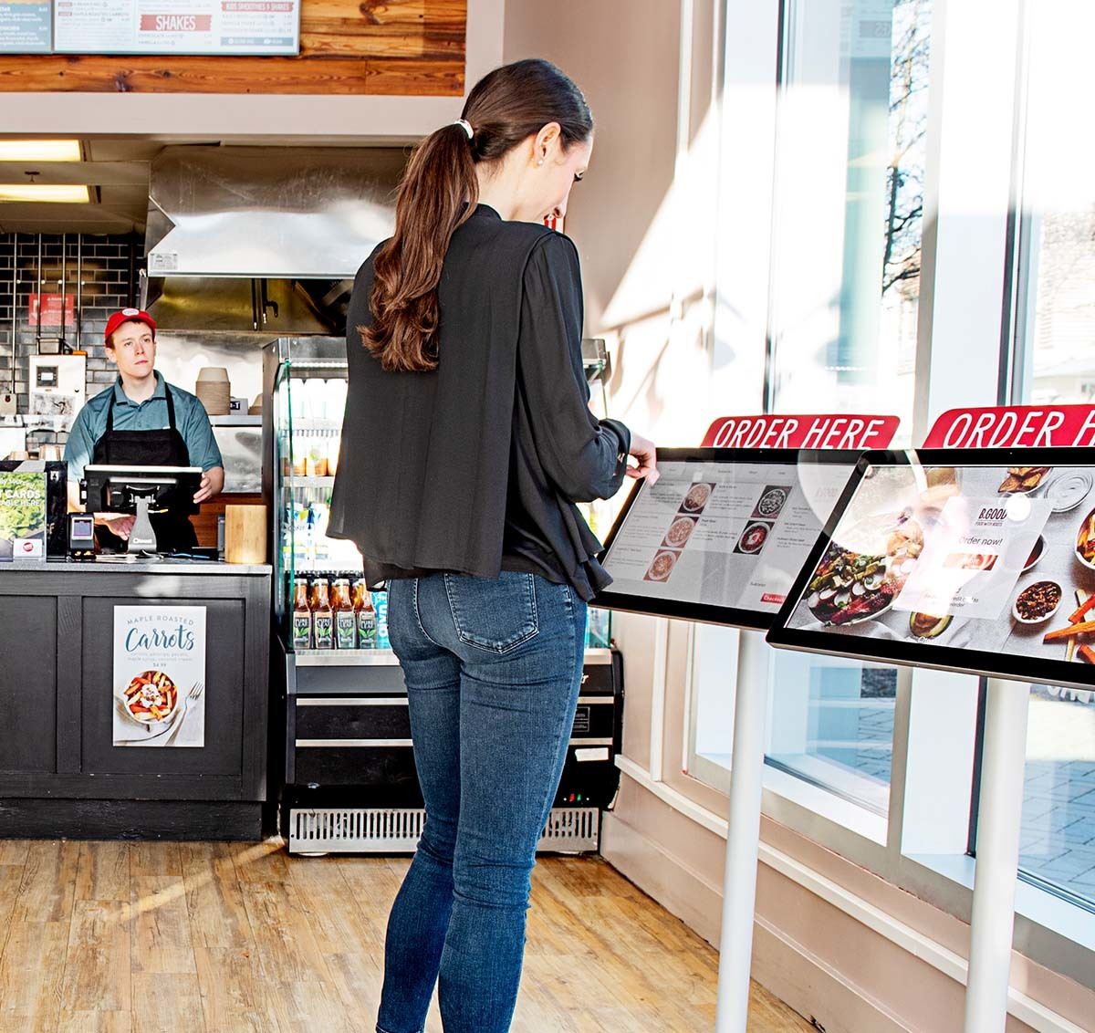 Self-Order Kiosks for Restaurants