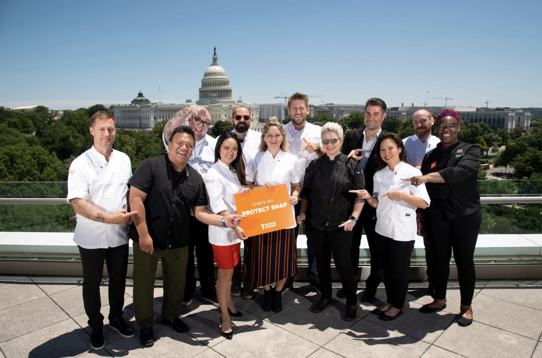 Chef Advocacy Day in Washington DC July 2019