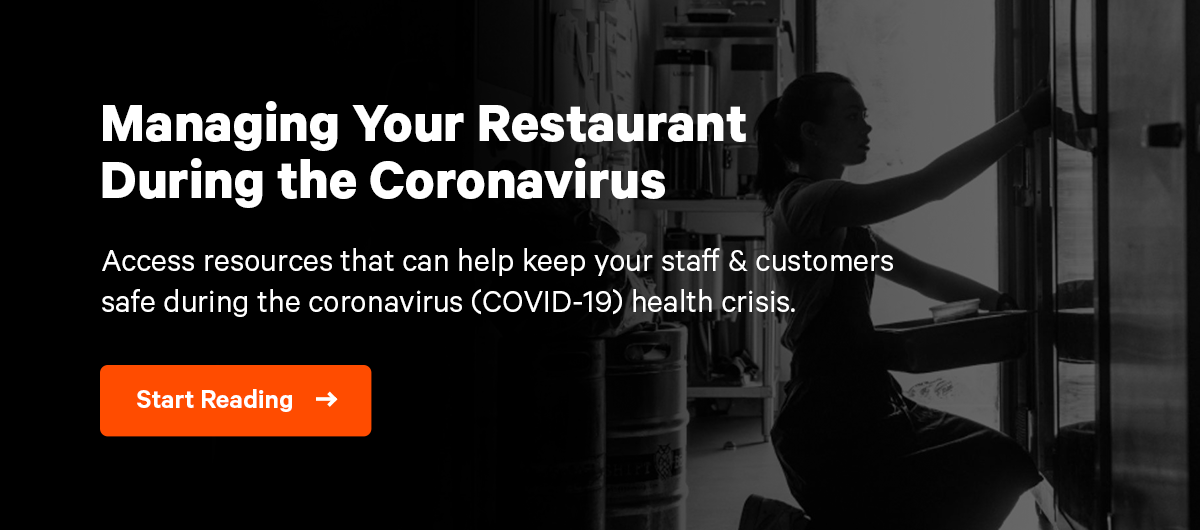 How to Manage Your Restaurant During the Coronavirus (COVID-19)