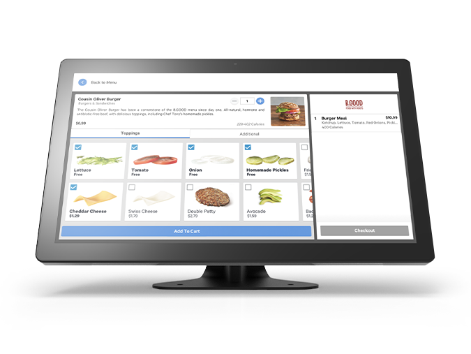 Self-Ordering Kiosk System | Restaurant Kiosk Software