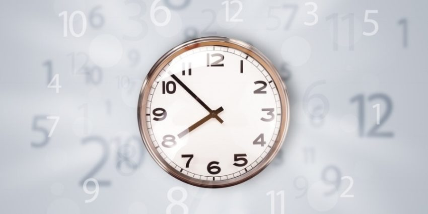 Modern Clock With Numbers On The Side Comming Out 582702 Edited