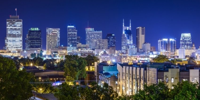 Nashville Tennesssee Usa Downtown Skyline  640481 Edited