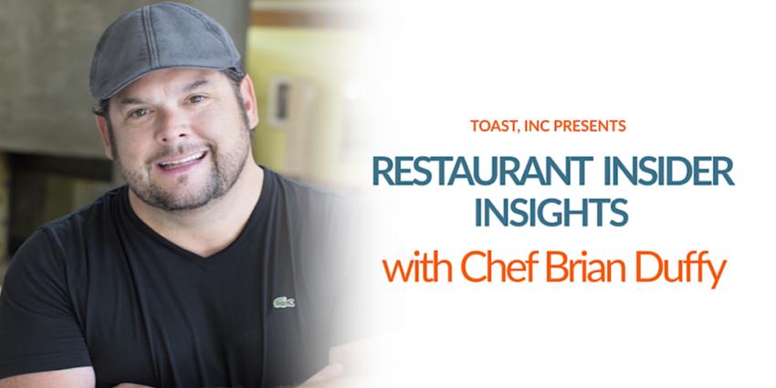 Restaurant Insights Brian Duffy