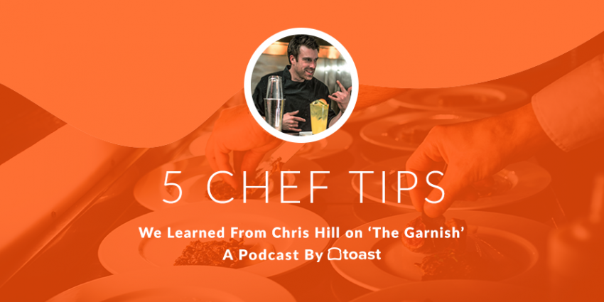 Toast The Garnish Blog Header