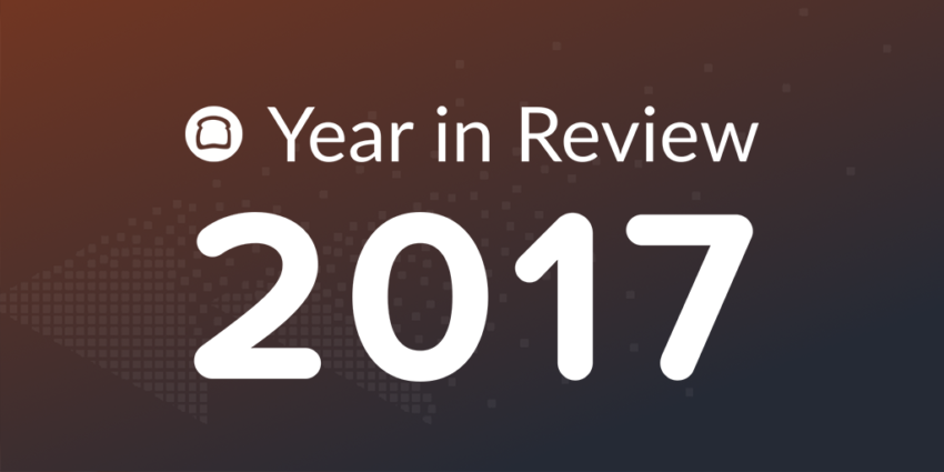 Year In Review 2017 Blog Header