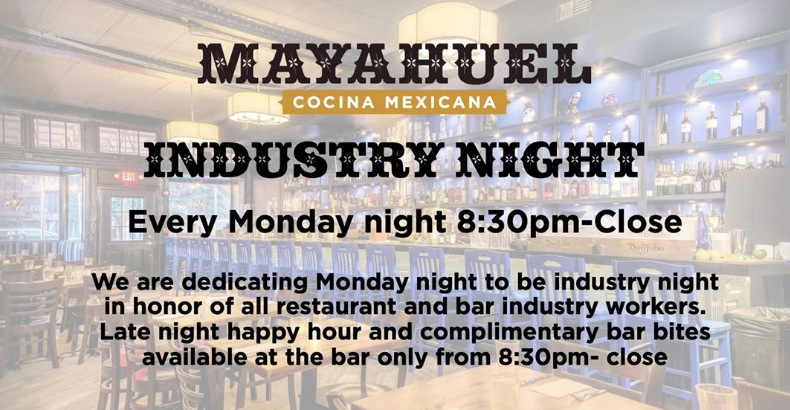 Mayahuel industry night
