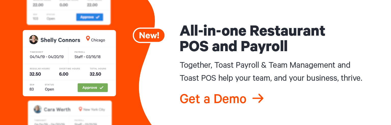 How to Do Payroll for Restaurants | Toast POS
