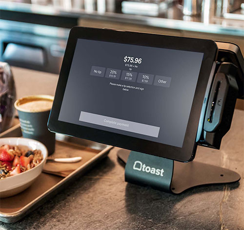 Toast Payment Processing