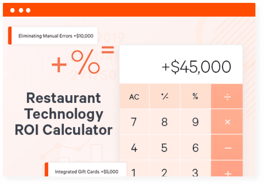 Restaurant Technology Roi Calculator Toast Pos