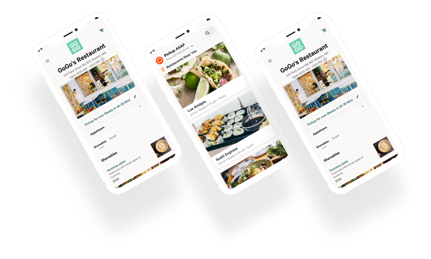 Toast TakeOut App